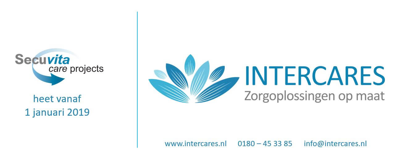 Naams- en logowijziging van Secuvita Care Projects naar Intercares Nederland B.V.